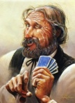 Old Poker Player -1890